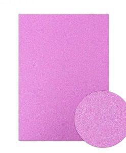 Cartoncino scintillante A4 - Rose Pink (Rosa)