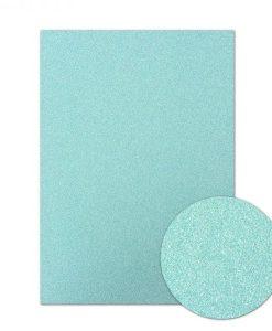 Cartoncino scintillante A4 - Sky Blue (Blu cielo)