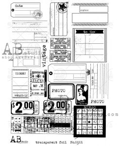 Foglio acetato trasparente - 0002 (tickets)