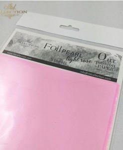 Foil perlato - Rosa pallido