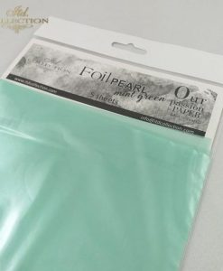 Foil perlato - Verde mint