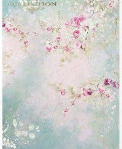 Spring shabby chic - Carta di riso A4
