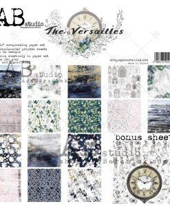 The Versailles - Blocchetto Cartoncino 12x12 (8 fogli)