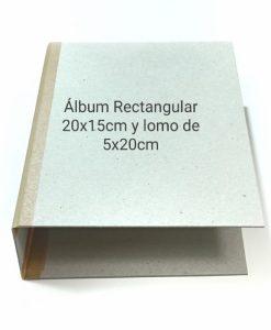 Abum rettangolare - 20cmx15cm