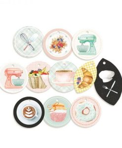 Around the table - 01 - Tags (set 11 pezzi)