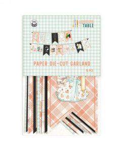 Around the table - Banner fustellato die-cut
