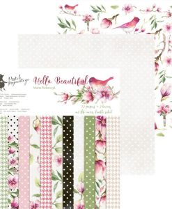 Hello Beautiful - Blocchetto Cartoncino 12x12 (12 fogli)