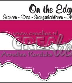 On the Edge dies N40 with double dots (2 pezzi)