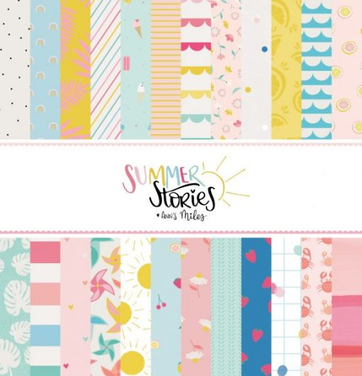 Summer Stories Stack - Blocchetto Cartoncino 12x12