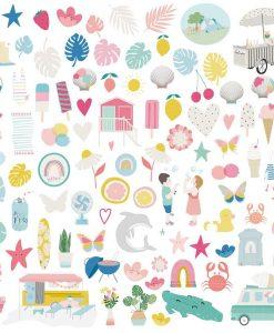 Summer Stories disegni - Die-cuts (96 pezzi)