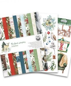 The Four Seasons - Winter - Blocchetto Cartoncino 6x8 (24 fogli)