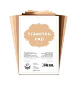 """Stamping Pad Tonalità della Pelle - Blocchetto Cartoncino 6x4"""""""