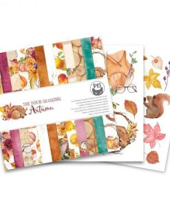 The Four Seasons - Autumn - Blocchetto Cartoncino 6x6 (24 fogli)