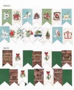 The Four Seasons - Winter - Banner fustellato die-cut (15 pezzi)