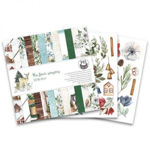 The Four Seasons - Winter - Blocchetto Cartoncino 6x6 (24 fogli)