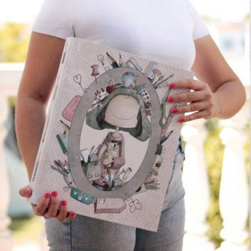 Al Cole con Ofelia El Altillo de los Dundes - Album ad anelli A4