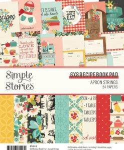 Apron Strings Simple Stories - Blocchetto cartoncino 6x8""