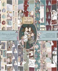 Collezione Una Navidad de Abrazos (Natale) - Cartoncino 12x12 (12 pezzi)