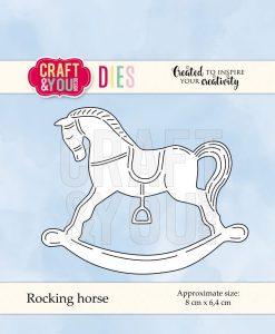 Fustella - Cavallo a dondolo