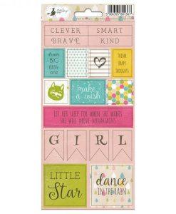 Little Girl 02 - Foglio di adesivi