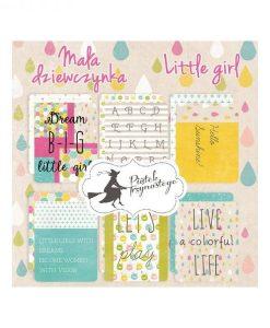 "Little girl - Set di Journaling Cards 3x4"""