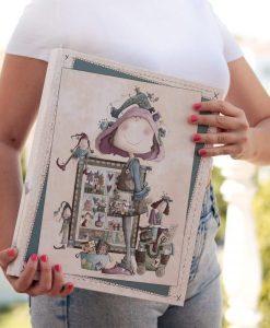 Ofelia Patchwork El Altillo de los Duendes - Album ad anelli A4