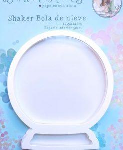 Elementi per creare una shaker Base, cornice interna, acetato, cornice di cartoncino Misure: 14cm x 12,5cm (è grande!) Marca: El Altillo de los Duendes