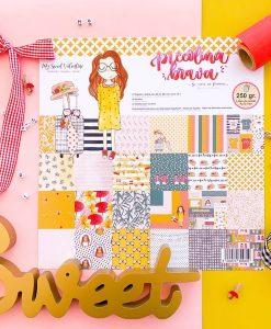 Piccolina Brava Mary Poppins - Blocchetto cartoncino 12x12
