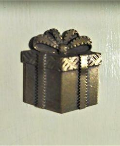 Regalo - abbellimento in metallo (1 pezzo)
