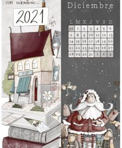 Segnalibro El Altillo de los Duendes - Calendario 2021