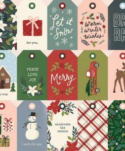 Winter Cottage Simple Stories - Tags + Elementi (2 pezzi)