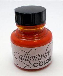 Arancione 28ml Stephens Calligraphy - Inchiostro per calligrafia