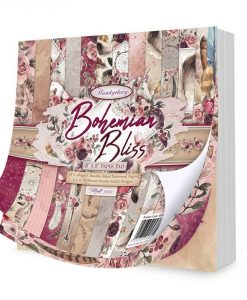 Bohemian Bliss Hunkydory - Blocchetto Cartoncino 8x8