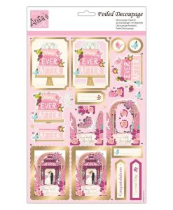Happy Ever After Anita's - Carta per decoupage