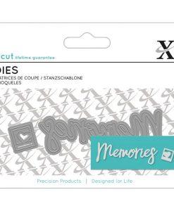 Memories Xcut - Fustella Mini (2 pezzi)