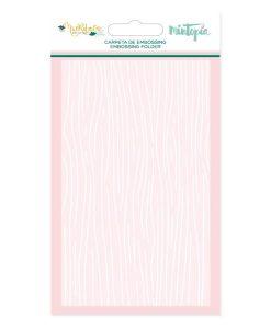 Muérdago Mintopía Legno - Embossing Folder