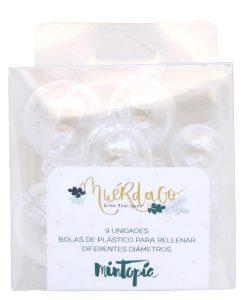 Muérdago Mintopía - Set di palline di plastica da riempire