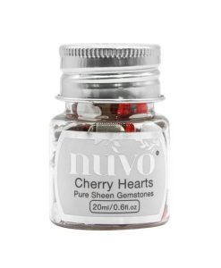Nuvo Gemstones - Assorted Cherry Hearts