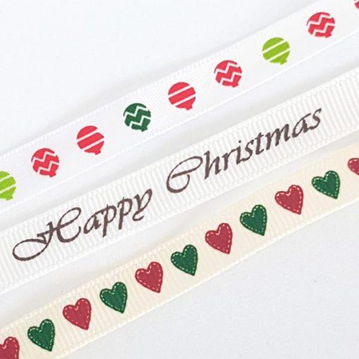Skinny Christmas - Set di Nastri 1m (3 pezzi)