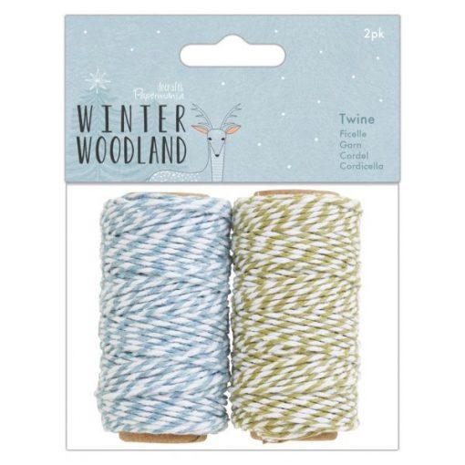 Winter Wonderland Papermania - Spago Twine (2 pezzi)