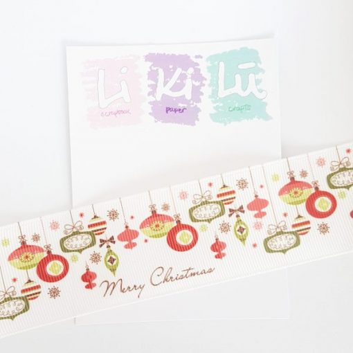 Baubles Natale 1 - Nastro 1m