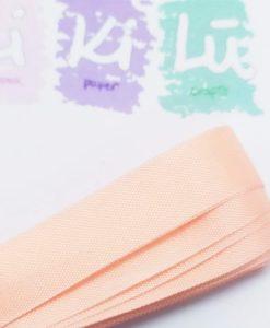 Apricot Seam binding - Nastro 5m