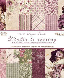 Collezione Winter is Coming- Cartoncino 6x6 (24 fogli)