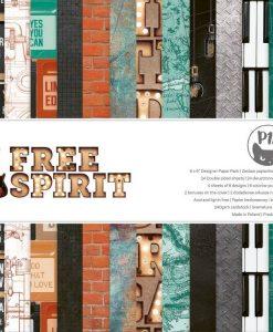 Free Spirit - Blocchetto Cartoncino 6x6 (24 fogli)