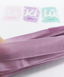 Purple Prickly Pear Seam binding - Nastro 5m 1