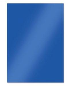 Blue Shimmer - Cartoncino Lucido Foil Mirri A4 (10 pezzi)