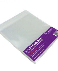 """Buste trasparenti per card 5x5"""" (50 pezzi)"""