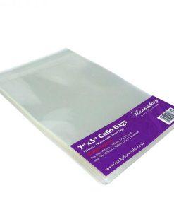 """Buste trasparenti per card 7x5"""" (50 pezzi)"""