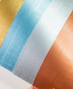 "Cartoncino tessuto metallico Johanna Rivero - Cartoncino 12x12"" (5 pezzi)"