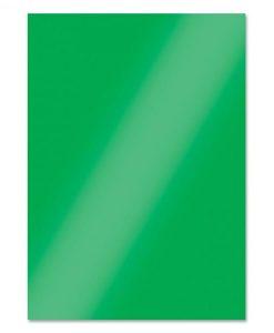 Emerald Green - Cartoncino Lucido Foil Mirri A4 (10 pezzi)